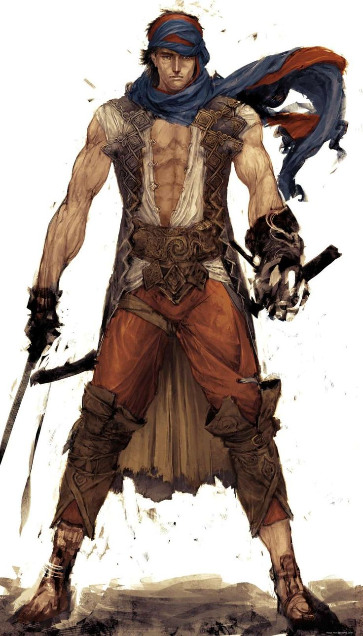 The Prince - concept art from Prince of Persia 2008