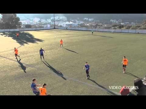 ΑΟ ΚΟΥΒΑΡΑΣ - ΚΕΡΑΥΝΟΣ 0-2