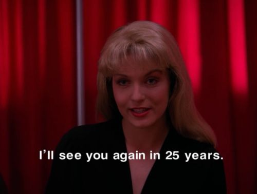 Laura Palmer in the Black Lodge