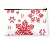 red flakes Studio Pouch
