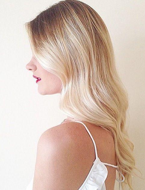creamy blonde balayage - Google Search