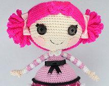 Amigurumi Doll Lalaloopsy Pattern : Best lalaloopsy images lalaloopsy crochet doll