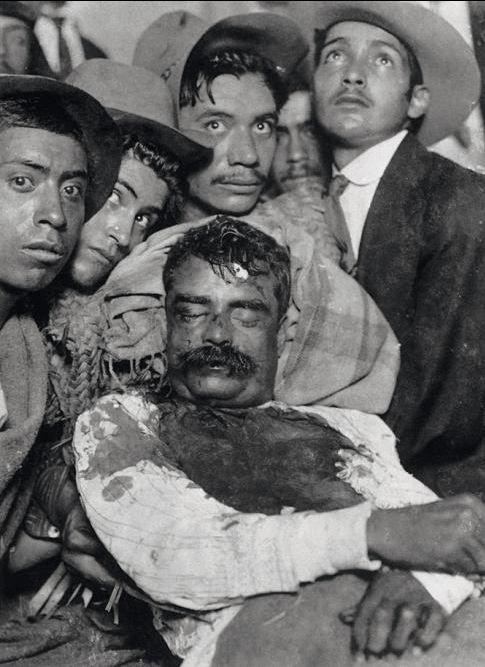 Emiliano Zapata, 1919. Asecinado por Carranza, el Caudillo del Sur fue parte de la Revolución Mexicana