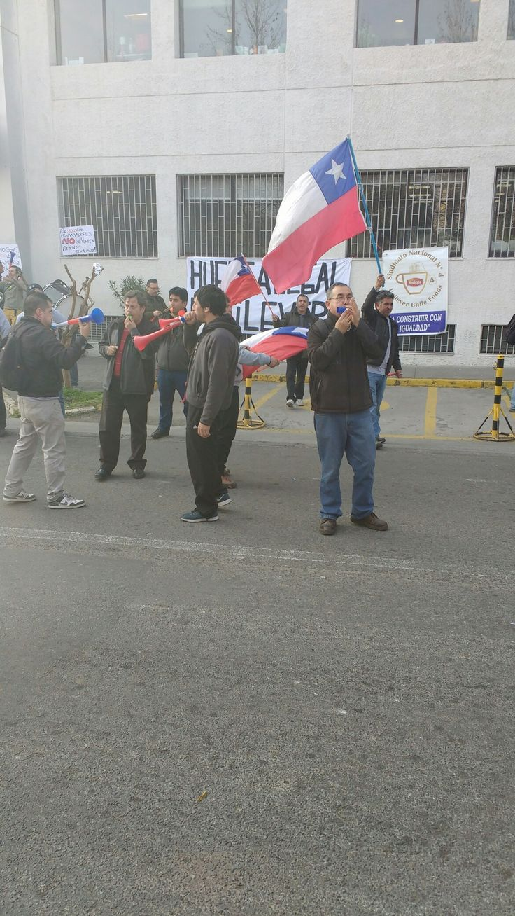 Huelga Unilever Chile Te Lipton