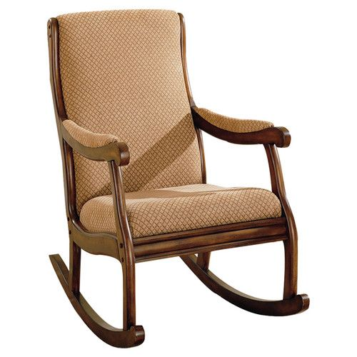 Co. Rocking Fabric Arm Chair  room addition  Pinterest  Chairs ...