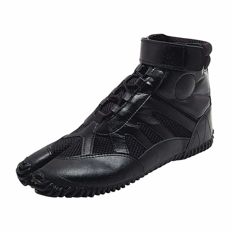 "Japanese Tabi Shoes Ninja Boots MARUGO ""SPORTS JOG"" Black Any Size"