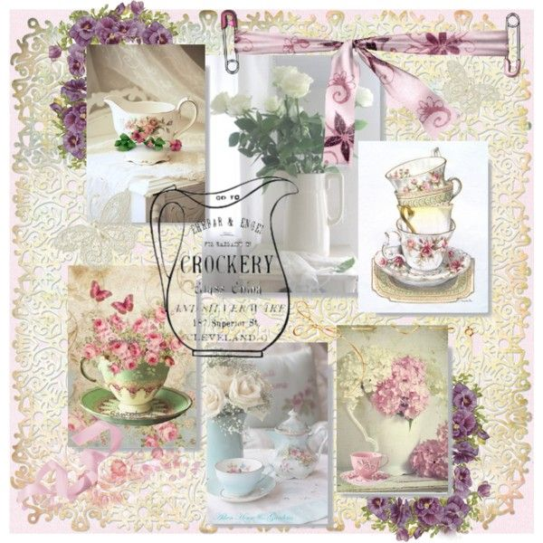 Tea Delight by acreativelife on Polyvore