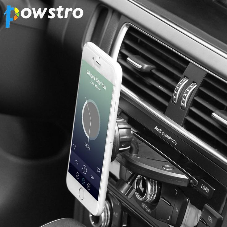 Powstro Car Mount Phone Holder Magnetic CD Slot Car Smartphone 360 Degree Stand for iPhone X Samsung S8 GPS Tablets