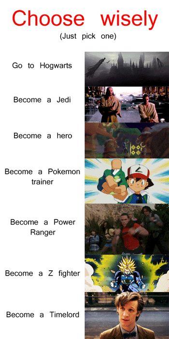 Choose your destiny!