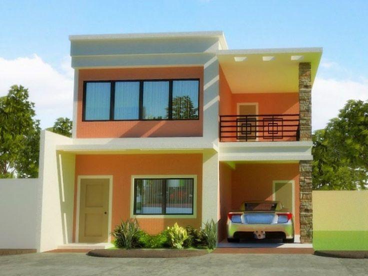 Warna Rumah Cream di 2021 Denah rumah kecil Desain