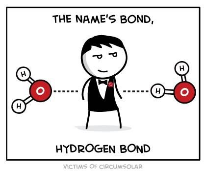 Haha I just made this pun the other day, except with covalent #chemistry