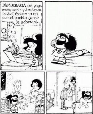 Tristemente, Mafalda tiene razón.