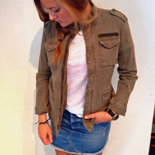 Army jacket from Anine Bing