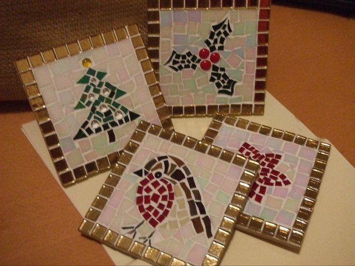 Christmas mosaic pictures for my mom!