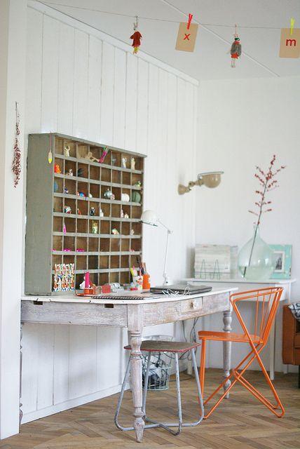 christmas cabinet by wood & wool stool, via Flickr