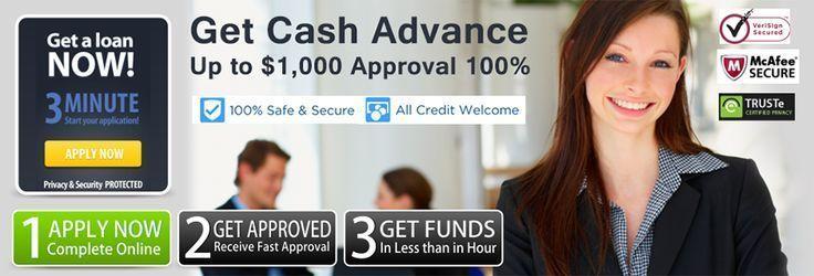 Get up 1000 cash advance overnight safe secure online