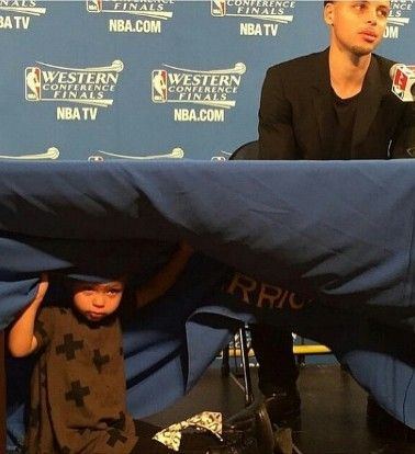 Steph Curry's Daughter, Riley