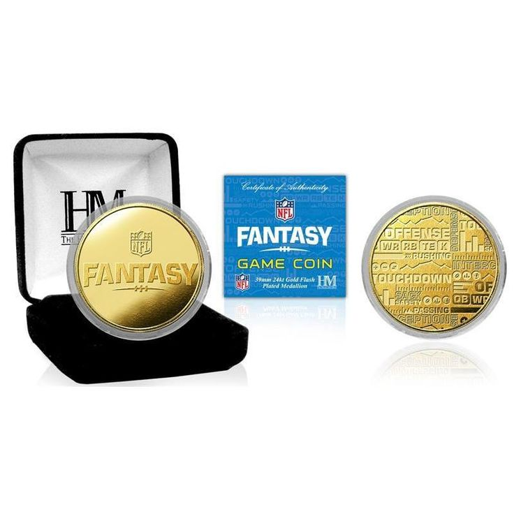 Highland Mint NFL Fantasy Football Game Coin