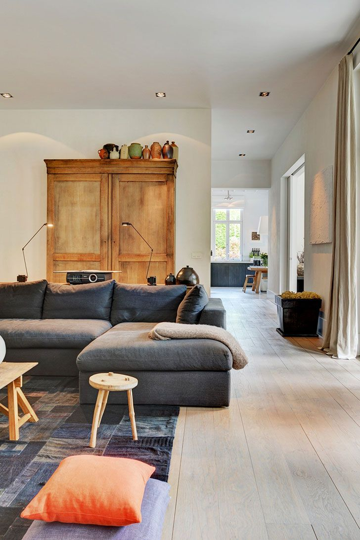 Beautiful Home With Modern Country Interiors In Belgium Country
