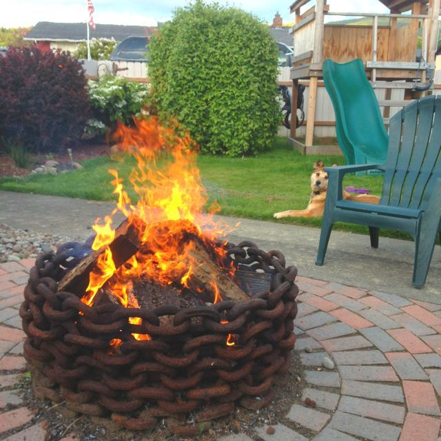 Fire pits can be perfect additions to any backyard space, not only for  their aesthetic look, but for warming up those cold evenings.