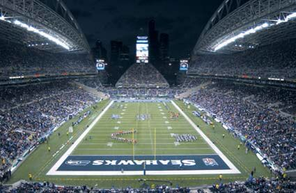 Attend a Seahawks game with friends and my love