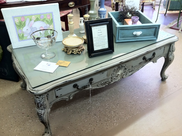 Large French country coffee table with glass top. The Inspired Nest - 25+ Best Ideas About French Country Coffee Table On Pinterest