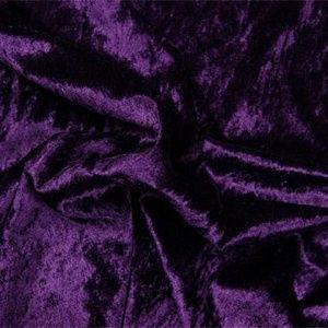 Paars fluweel stof