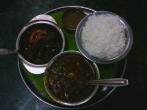 The most amazing and delicious Chettinad Food ever... At Apache restaurant in Pondicherry!
