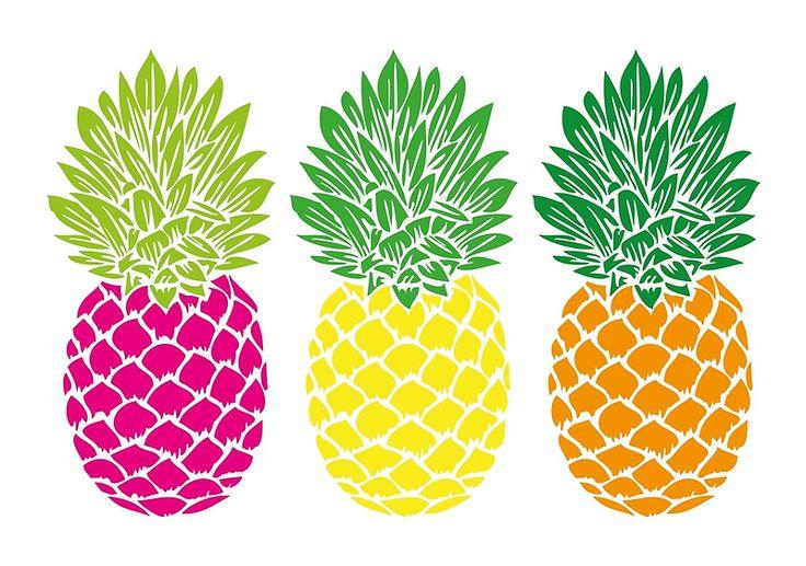 pineapple stencil prints pattern redbubble
