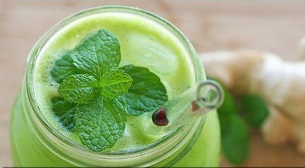 Mit diesen gesunden Ingwer-Gurken Saftkannst du deinen Körper ganz natürlich entgiften