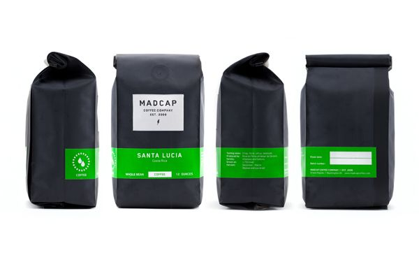 Madcap Coffee Company on Packaging Design Served