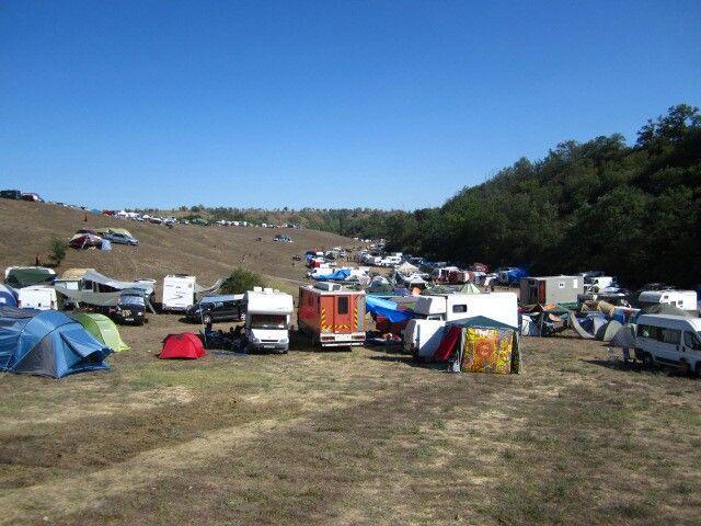 'Ozora festival' Camping spot