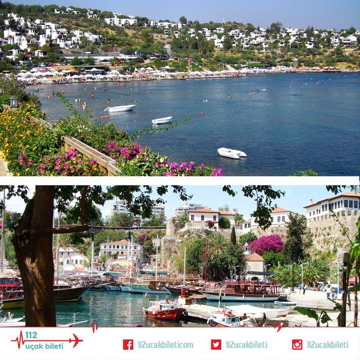 Bodrum mu? yoksa Antalya mı? Siz şu anda nerede olmak isterdiniz? #tatil #bodrum #antalya