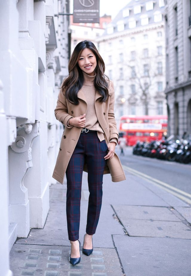 Loft plaid pants 00p (on sale!), Talbots belt xs (extra holes punched), Gucci soho bagBurberry coat sz 2 (my review), Zara heels (similar), Ann Taylor sweater c/o (similar) London is so magical right