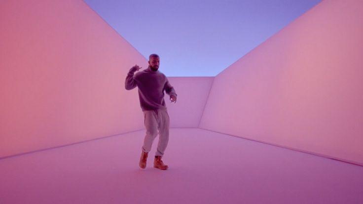 Drake Channels James Turrell For Hotline Bling. Screen-Shot-Drake-Hotline Bling