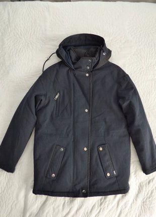 À vendre sur #vintedfrance ! http://www.vinted.fr/mode-femmes/manteaux-dhiver/30645451-parka-hivers-bleu-marine-ikks-taille-40