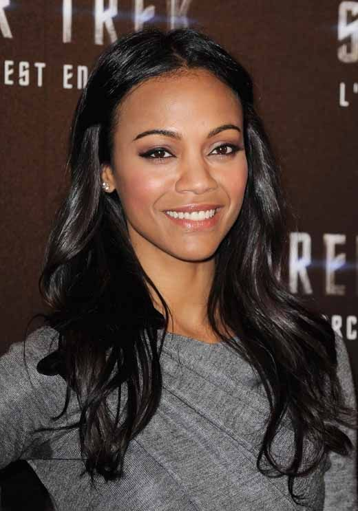 Zoe Saldana - Her movie Columbiana was GREEEEAT.