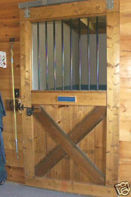 1000 ideas about barn doors for sale on pinterest patio for Horse stall door plans