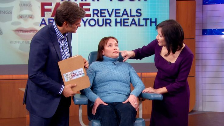 What Your Face Reveals About Your Health: The ancient health practice of face reading is making a comeback! Learn how you can uncover the clues to deadly diseases before your doctor. Plus, Dr. Oz reveals free and easy techniques to help melt away your pain without medication.