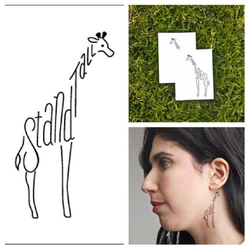 Giraffe - temporary tattoos (Set of 2) Tattify http://www.amazon.com/dp/B00CONRYNW/ref=cm_sw_r_pi_dp_UejVvb1RQHHY4