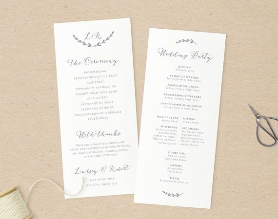 the 25 best print your own wedding programs ideas on