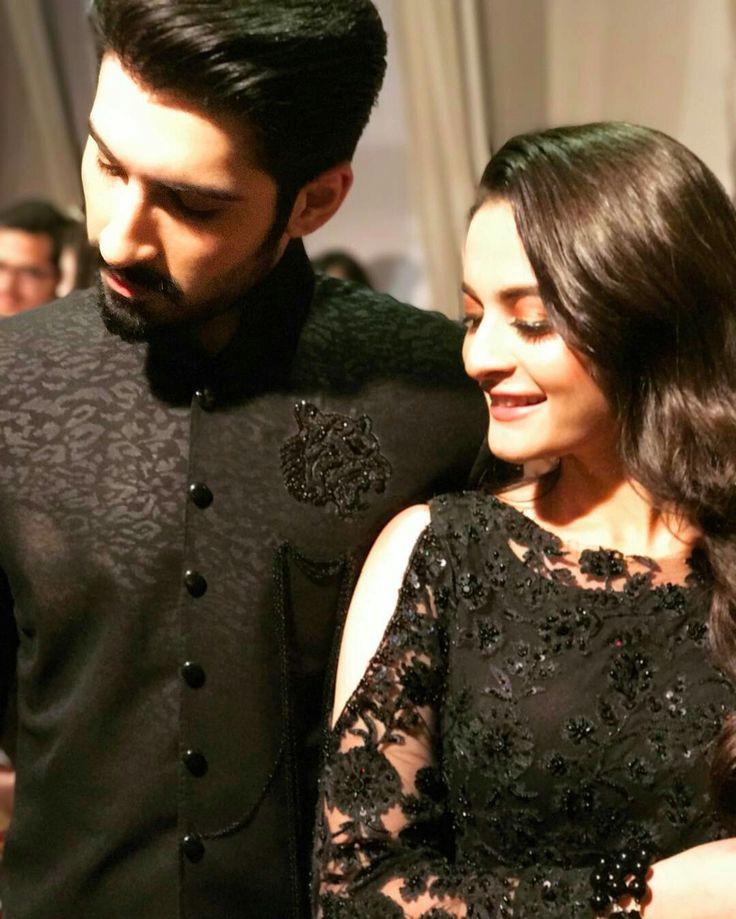 Beautiful couple Aimen khan & Muneeb Butt❤