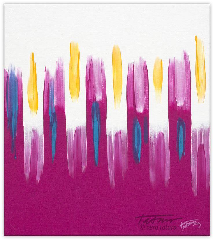 Light the candles , acrylic painting by vera Ema Tataro