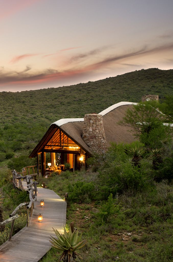 Kwandwe Fish River Lodge is one of four lodges situated within the 22 000-hectare Kwandwe Private Game Reserve, South Africa. Set on a bushy gorge overlooking the Great Fish River, the lodge has sweeping views of the river and the hills beyond it. If you are looking for a safari holiday with stylish accommodation then Kwandwe Fish River Lodge is top of the chart. Timbuktu Travel.