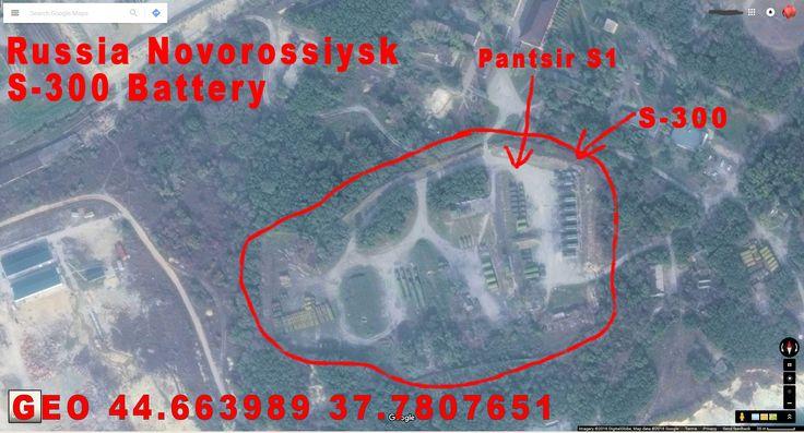 Novorossiysk Russia, S-400 Battery.