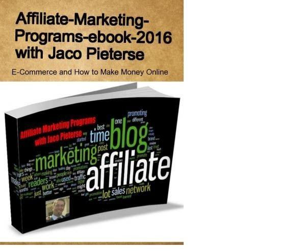 Affiliate Marketing Programs e-book 2016