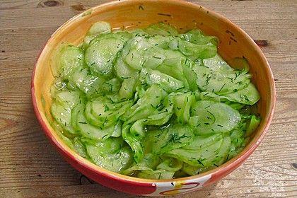 Dänischer Gurkensalat 1