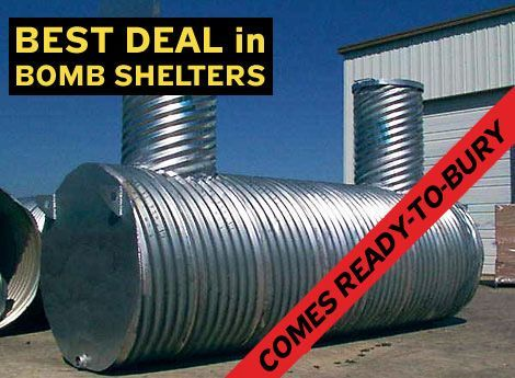 Homemade Underground Tornado Shelters | Which of these underground shelters is best? I hope to make one., page ...