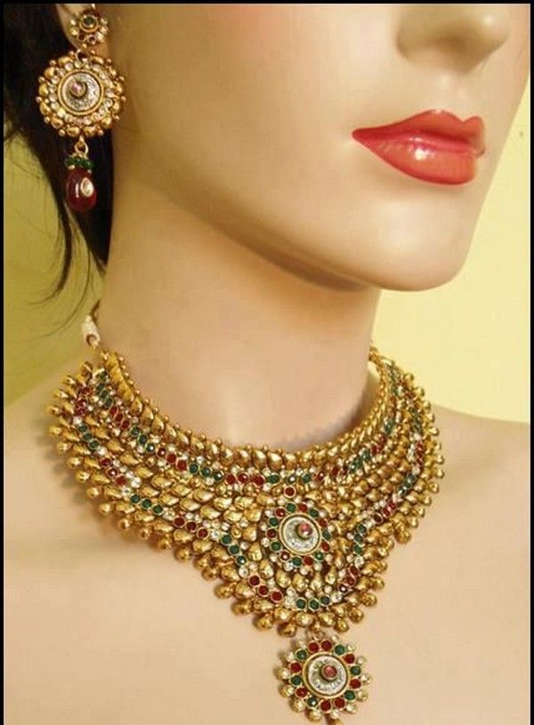 Indian Bridal Jewelry Sets | the most attractive bridal accessory for the day of wedding generally ...