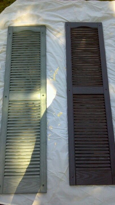 Best 20 exterior shutters ideas on pinterest no signup - How to spray paint your house exterior ...